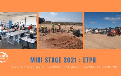 Vis ta vie version ETPN grâce aux mini-stages !